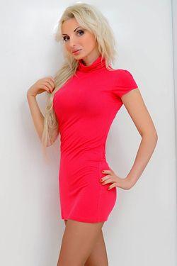Photo of beautiful Ukraine  Aleksandra with blonde hair and blue eyes - 19270
