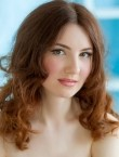 Photo of beautiful  woman Alena with light-brown hair and green eyes - 21549