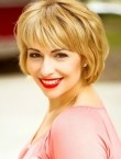 Photo of beautiful  woman Alena with blonde hair and green eyes - 21654