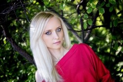 Photo of beautiful Ukraine  Alexandra with blonde hair and blue eyes - 21736