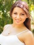 Photo of beautiful  woman Alina with grey hair and brown eyes - 20940