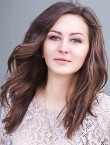 Photo of beautiful  woman Alina with brown hair and brown eyes - 21866
