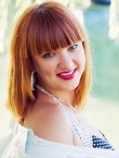 Photo of beautiful  woman Alina with red hair and grey eyes - 22036
