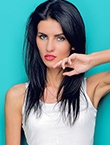 Photo of beautiful  woman Anastasia with black hair and blue eyes - 17967