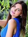 Photo of beautiful  woman Anastasia with brown hair and brown eyes - 18219
