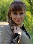 Photo of beautiful  woman Anastasia with light-brown hair and green eyes - 20436