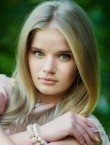 Photo of beautiful  woman Anastasia with blonde hair and blue eyes - 20698