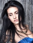 Photo of beautiful  woman Anastasia with black hair and brown eyes - 21209