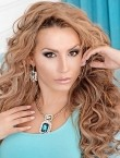 Photo of beautiful  woman Anastasia with blonde hair and brown eyes - 21355