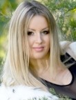 Photo of beautiful  woman Anastasia with blonde hair and brown eyes - 21704