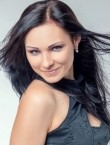Photo of beautiful  woman Anastasia with black hair and green eyes - 21967