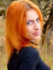 Photo of beautiful  woman Anastasia with red hair and blue eyes - 22545