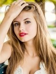 Photo of beautiful  woman Anastasia with grey hair and brown eyes - 27809