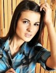Photo of beautiful  woman Anastasia with black hair and grey eyes - 27956