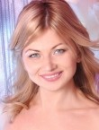 Photo of beautiful  woman Anna with blonde hair and grey eyes - 20733