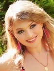 Photo of beautiful  woman Anna with light-brown hair and brown eyes - 21349