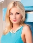 Photo of beautiful  woman Anna with blonde hair and blue eyes - 21895