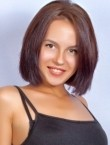 Photo of beautiful  woman Anna with brown hair and brown eyes - 22301