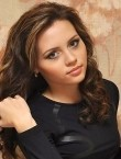 Photo of beautiful  woman Anna with brown hair and green eyes - 27620