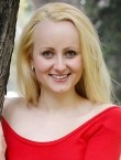 Photo of beautiful  woman Anya with blonde hair and blue eyes - 21035
