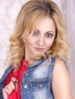 Photo of beautiful  woman Christina with blonde hair and grey eyes - 27789