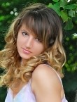 Photo of beautiful  woman Daria with light-brown hair and brown eyes - 28709