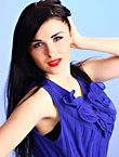 Photo of beautiful  woman Ekaterina with black hair and blue eyes - 18174