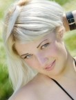 Photo of beautiful  woman Ekaterina with blonde hair and grey eyes - 20400