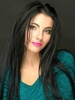 Photo of beautiful  woman Ekaterina with black hair and green eyes - 27926