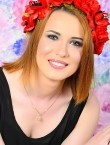 Photo of beautiful  woman Ekaterina with red hair and green eyes - 28169