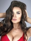 Photo of beautiful  woman Ekaterina with brown hair and grey eyes - 28768