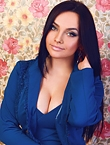 Photo of beautiful  woman Elena with black hair and green eyes - 12856