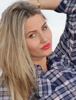 Photo of beautiful  woman Elena with blonde hair and blue eyes - 20541