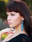 Photo of beautiful  woman Elena with brown hair and grey eyes - 20847