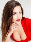 Photo of beautiful  woman Elena with black hair and hazel eyes - 21323
