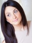 Photo of beautiful  woman Elena with brown hair and green eyes - 21457