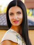 Photo of beautiful  woman Elena with brown hair and green eyes - 22189