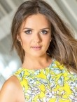 Photo of beautiful  woman Elena with brown hair and grey eyes - 22513