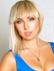 Photo of beautiful  woman Elena with blonde hair and green eyes - 27594