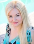 Photo of beautiful  woman Elena with blonde hair and green eyes - 27650