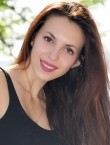 Photo of beautiful  woman Elena with brown hair and brown eyes - 28618