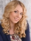 Photo of beautiful  woman Elina with blonde hair and blue eyes - 22267