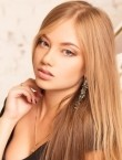 Photo of beautiful  woman Elvira with blonde hair and grey eyes - 27775