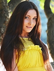 Photo of beautiful  woman Irina with brown hair and green eyes - 12852