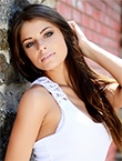Photo of beautiful  woman Irina with brown hair and green eyes - 18098