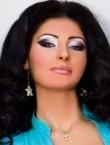 Photo of beautiful  woman Irina with black hair and green eyes - 20589