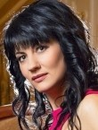 Photo of beautiful  woman Irina with black hair and green eyes - 20844