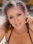 Photo of beautiful  woman Irina with light-brown hair and grey eyes - 21434