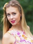 Photo of beautiful  woman Irina with blonde hair and blue eyes - 28074