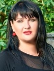 Photo of beautiful  woman Jana with black hair and blue eyes - 22245